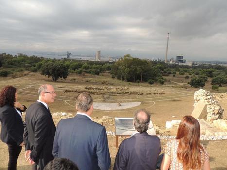 El Teatro romano de Carteia ya puede visitarse   Arqueología romana en Hispania   Scoop.it