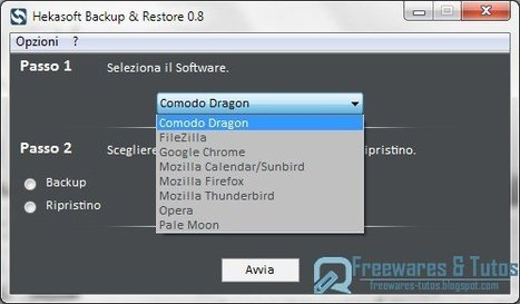 Hekasoft Backup & Restore : un logiciel gratuit pour sauvegarder et restaurer son navigateur internet | Time to Learn | Scoop.it
