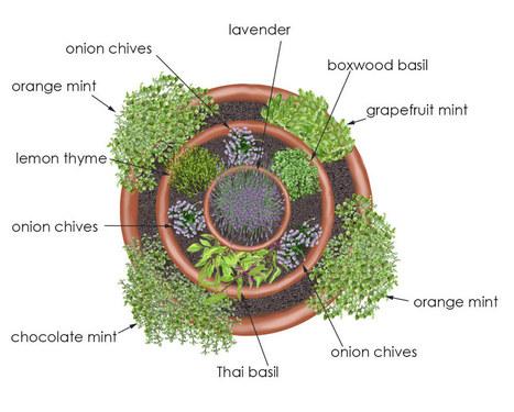 Herb Tower Container Garden - Bonnie Plants   garden tower   Scoop.it