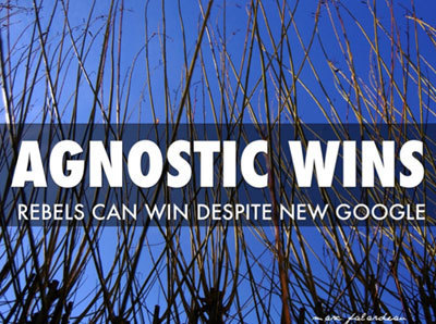Agnostic Wins - How A Rebel Army Can Still Win Despite New Google | Digital-News on Scoop.it today | Scoop.it