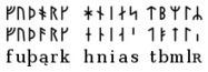 Runes scandinaves - Wikipédia | Alphabets | Scoop.it