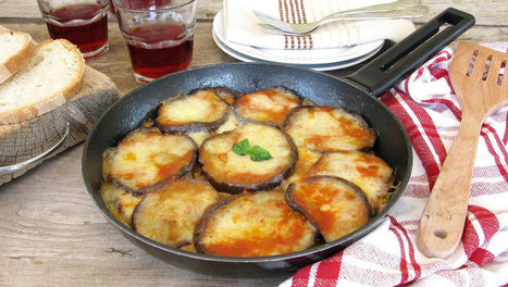 Parmigiana di melanzane in padella   iFood   La Cucina Italiana - De Italiaanse Keuken - The Italian Kitchen   Scoop.it