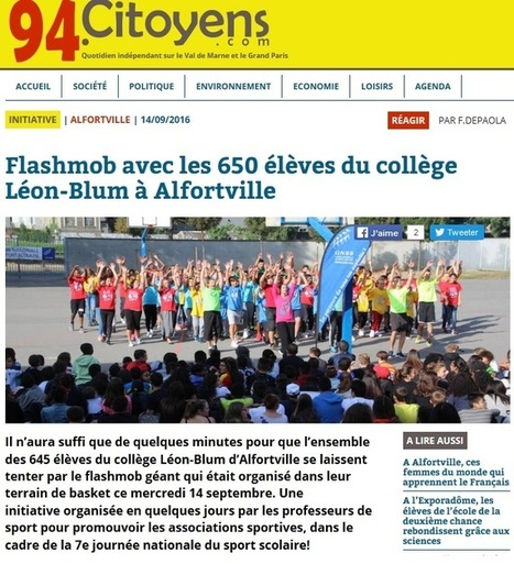 Flashmob à Alfortville | Charentonneau | Scoop.it