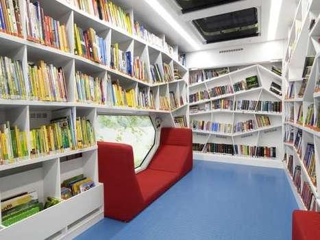 58 Novel Library Designs   inspiring   Scoop.it
