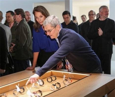 Des Apple Store aux Galeries Lafayette, où sera l'Apple Watch?   Hightech, domotique, robotique et objets connectés sur le Net   Scoop.it