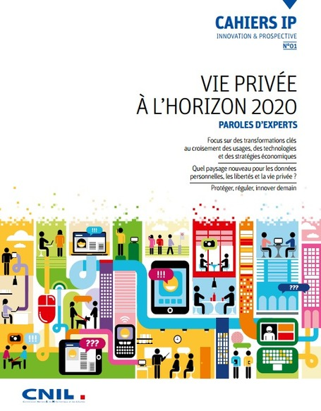 CNIL - Nouvelle publication : Les Cahiers IP | formation 2.0 | Scoop.it
