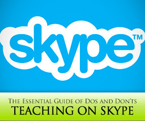 Teaching on Skype©: Essential Guide of Do's and Don'ts | others | Scoop.it