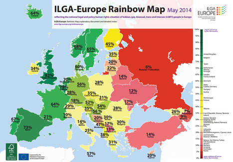 Where is the best place for LGTBI rights in Europe (clue: it's definitely not Russia)? | Saif al Islam | Scoop.it