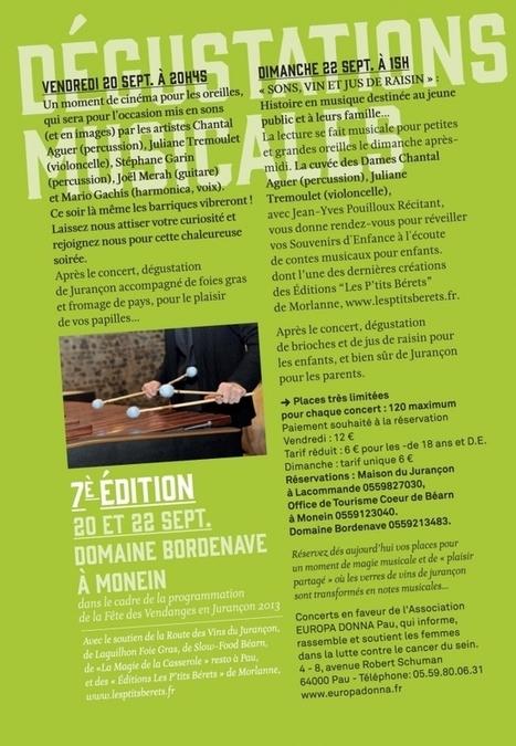 Dégustations Musicales au Domaine Bordenave - cepdivin.org - les imaginaires du vin | World Wine Web | Scoop.it