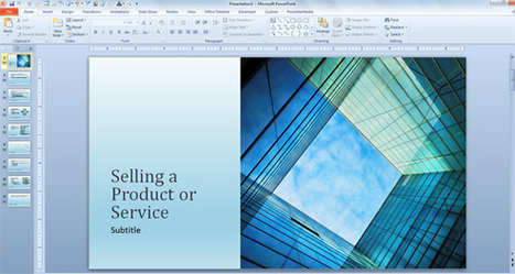Free Business Sales Template for PowerPoint Presentations | PowerPoint Presentation | nadeem | Scoop.it
