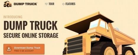 DumpTruck, servicio de almacenamiento de datos con 5GB gratuitos | Educación a Distancia y TIC | Scoop.it