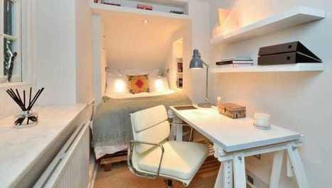 10 skvelých nápadov ako dosiahnuť malú spálňu vo veľkom štýle   domov.kormidlo.sk   Scoop.it