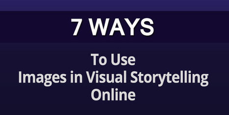 Visual Stories: 7 Ways Digital Marketers Can Use Images in Social Media - Business 2 Community | Stories - an experience for your audience - | Scoop.it