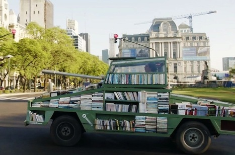 Weapon of Mass Instruction Is A Drivable Library |Interesting Engineering | innovative libraries | Scoop.it