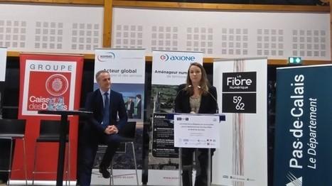 Signature du plus grand projet du plan France THD par le SMO La Fibre 59/62 : Nord et Pas-de-Calais   Tactis   Très Haut Débit et Aménagement numérique des Territoires   Scoop.it