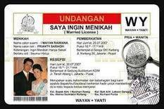 Undangan Pernikahan | Lingkar Merah | Scoop.it