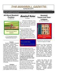 Classroom Newspaper Google Docs Style! | Blended Teaching | Scoop.it