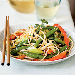 Asian Green Bean Salad | MyRecipes.com | Great Recipes | Scoop.it