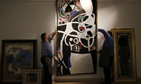 Portugal auctions Miró works to recoup cash from bank rescue ... | Art | Scoop.it