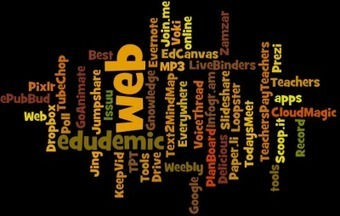 The 30 Best Web 2.0 Tools For Teachers (2012 Edition) - Edudemic | H_C | Scoop.it