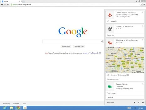 Google Now Comes To Chrome On The Desktop For Windows And Mac | TechCrunch | Mobile, Web et autres friandises | Scoop.it