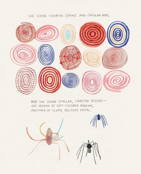 Spiderwoman's Cloth Lullaby: The Illustrated Life of Artist Louise Bourgeois | Multicultural Children's Literature | Scoop.it