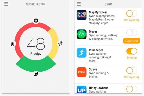 Get Nudge and Finally Track All Your Health and Fitness Data in One App | The 5 Chambers Of Fitness | Scoop.it