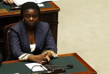 Italy investigates racist slurs against first black minister | Reuters | The Indigenous Uprising of the British Isles | Scoop.it