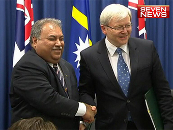 Kevin Rudd announces new asylum seeker processing and refugee settlement ... - Yahoo!7 News | Asylum Seekers | Scoop.it