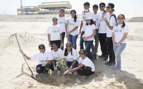 UAE youth plant 200 Ghaf trees as part of reforestation plan - Khaleej Times | GarryRogers NatCon News | Scoop.it