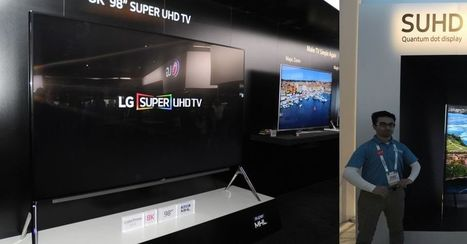 8K Attack: LG's and Samsung's super high-res TVs are here | Digital Cinema | Scoop.it