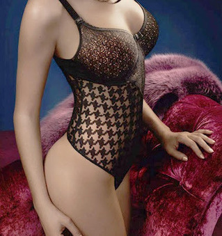 Empreinte Lingerie: Lace Bras That Really Are For Divas | Herstory | Scoop.it