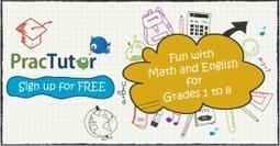 Free Online Program for Math and English from PracTutor - ClassTechTips.com | iPads in Education | Scoop.it