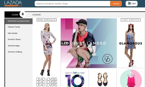 Lazada picks PR agency | TheRunwayRecruiter | Scoop.it