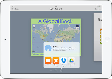 You can now share ebooks straight to iTunes U from your iPad - Book Creator app | Blog | iPad Apps for Education | Scoop.it