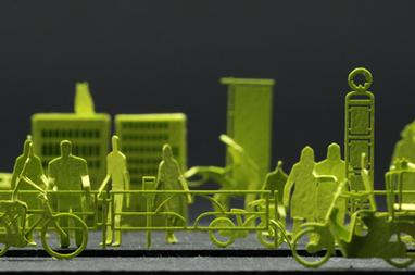 1/100 Paper Models de Naoki Terada | diseño | Scoop.it