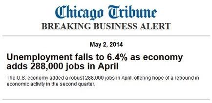 Big Shock: Liberal Press Deceptive in Unemployment Rate Reports Yet Again | Restore America | Scoop.it