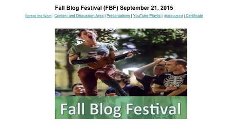 Fall Blog Festival | Blended Online Learning | Scoop.it