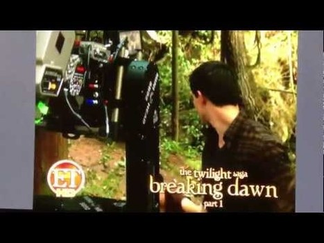 New Breaking Dawn Footage from ET | Twilight Lexicon | The Twilight Saga | Scoop.it
