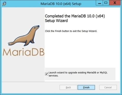 Upgrade MySQL 5.6 vers MariaDB 10.0 sur Windows | Informatique | Scoop.it