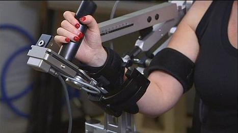 Novas técnicas de fisioterapia com robôs e jogos de vídeo | Ecologia e cultura | Scoop.it