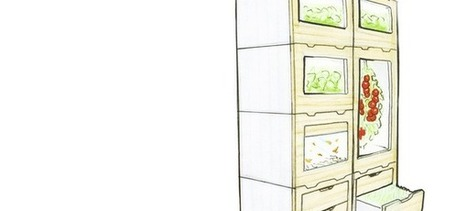 Une ferme miniature et connectée dans votre cuisine | Manger autrement - S'informer | Scoop.it