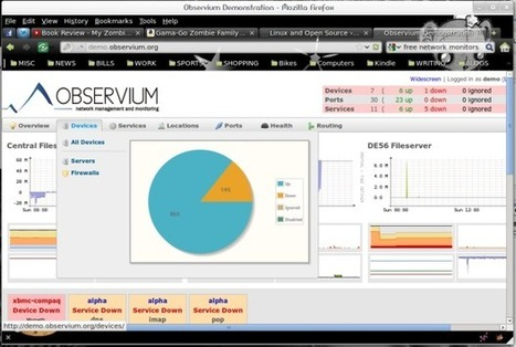Five free network monitoring tools | Nova Tech Consulting S.r.l. | Scoop.it