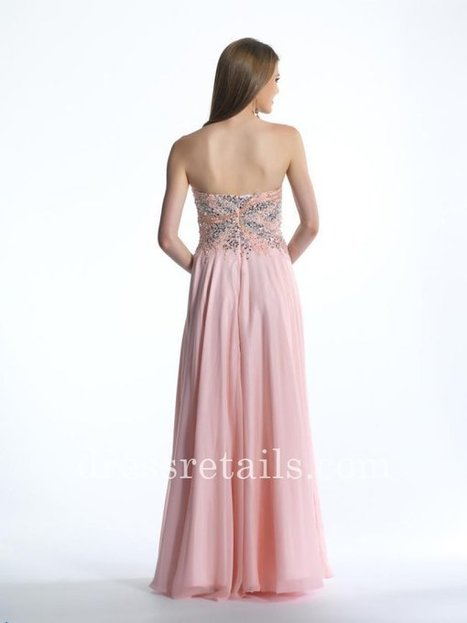 Pink long evening dress by Dave and Johnny 1170 online [Dave and Johnny 1170] - $185.00 : Prom Dresses | Dresses From dressretails.com | Dresses for girls | Scoop.it