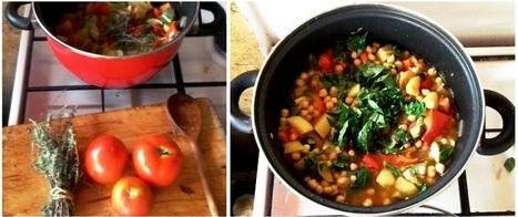 Colorful Mediterranean Chickpea Soup  - Nutrition Blog   Web-Ernaehrung   Scoop.it