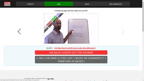 Design de page web très simple avec des DIV | Création Site Internet | Scoop.it