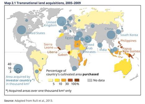 Land grabbing: ces États qui mettent la main sur les terres des autres | ISR, DD et Responsabilité Sociétale des Entreprises | Scoop.it