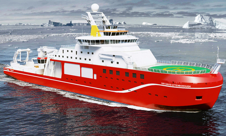 Rolls-Royce to design and equip UK future polar research ship | NERC media coverage | Scoop.it