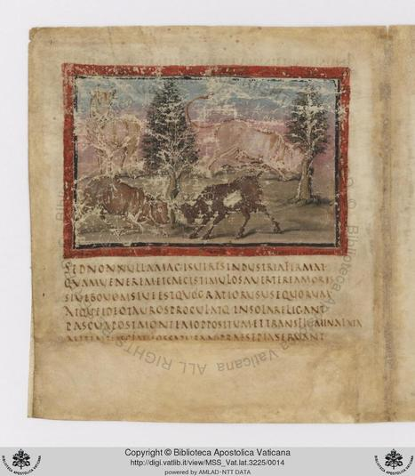 Vatican Digitizes a 1,600-Year-Old Illuminated Manuscript of the 'Aeneid' | Research_topic | Scoop.it