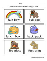 Compound Words Worksheets   Have Fun Teaching   English all over   Scoop.it